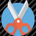 barber, cut, hairdresser, scissor, scissors, steel, tool icon