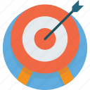 target, marketing, dartboard, strategy, arrow, dart, accuracy icon