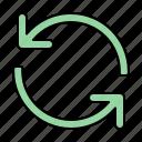 refresh, syncronize, rotate, interface icon