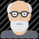 avatar, boomer, generations, male, man icon