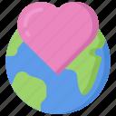 earth, environment, gen, heart, love, z icon