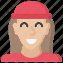 avatar, female, gen, generations, z icon