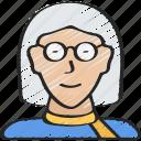 avatar, boomer, female, generations icon