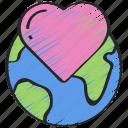 earth, environment, gen, heart, love, z