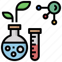 biology, chemical, chemistry, molecular, molecule, science, structure icon