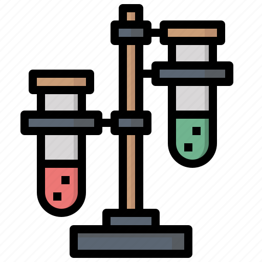 chemical, experiment, healthcare, medical, test, tubes icon