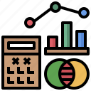 book, calculator, education, mathematical, mathematics, maths, numbers icon