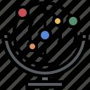 cradle, energy, game, momentum, newton, perpetual, physics icon