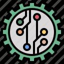 droid, nano, robot, molecules, electronics, education, electronic