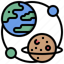 astronomy, earth, electronics, geography, map, planet, world icon