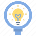 creative, discovery, education, idea, knowledge, learning, study icon