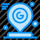 google, location, map, mark, pin icon