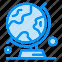 globe, map, table, trip, world icon