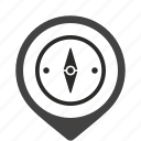 compass, navigation, salor icon
