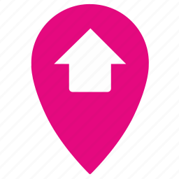 geo, gps, here, home, location, map, place icon