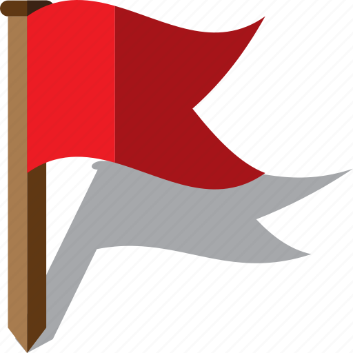 Destination, flag, location, map, pointer icon - Download on Iconfinder