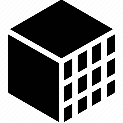 box, decor, design, hexahedron, ornament, pattern icon