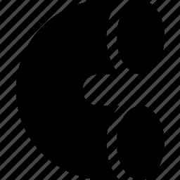 bend, circle, curve, figure, geometry, shape icon