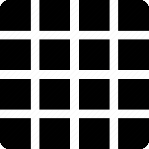design, geometric, grid, pattern, squares, system icon