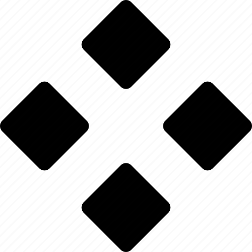 diamond, kite, ornament, parallelogram, quad, rhombuses icon