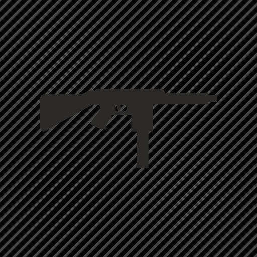 automatic, gun, mashine, weapon icon