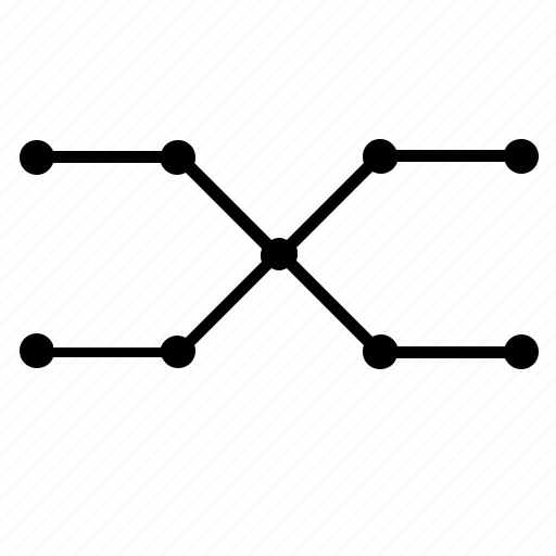 complex, curve, dots, figure, geometry icon
