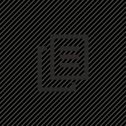 copy, file, printer, xerox icon