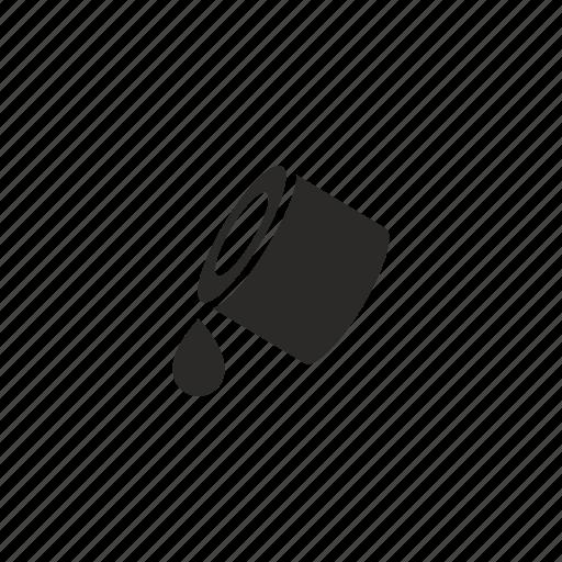 color, drop, fill, ink, printer icon