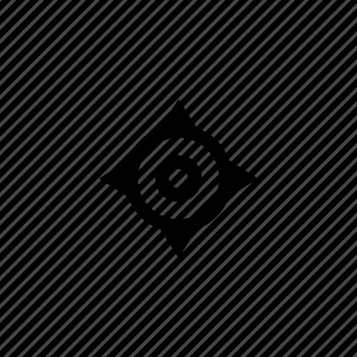 cursor, geo, navigation, position icon