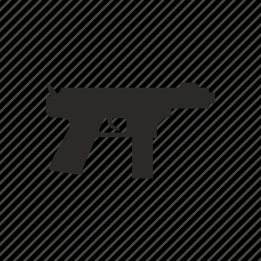 automatic, gun, mashine, shoot, weapon icon