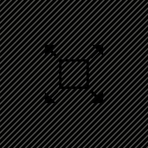 full, maximum, size, window icon