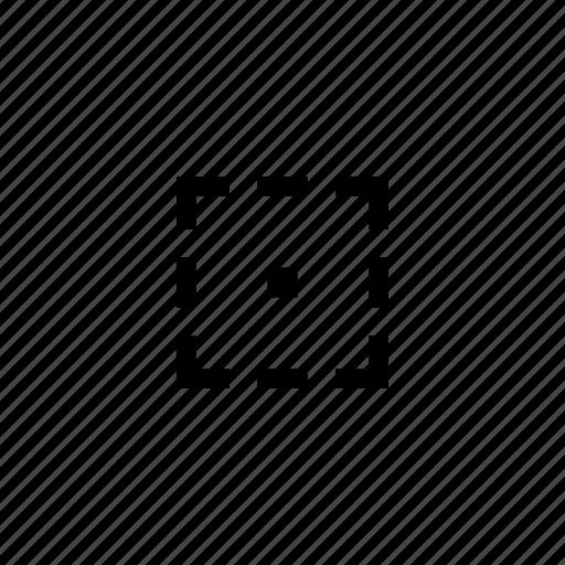 area, cursor, edit, instrument, object icon
