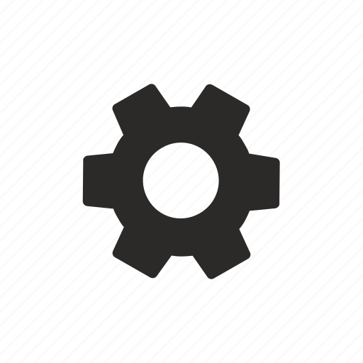 configurate, gear, option, settings icon