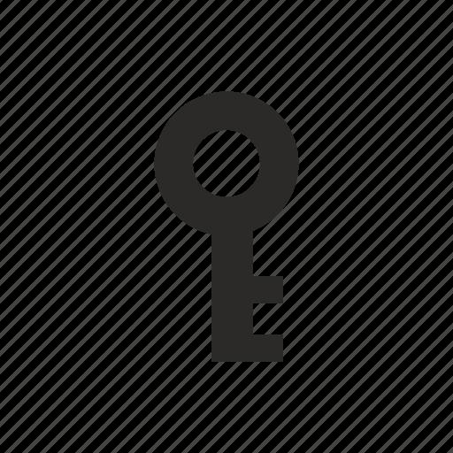 key, password, pin icon