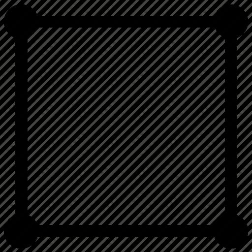 figure, form, geometry, quadrate, square icon