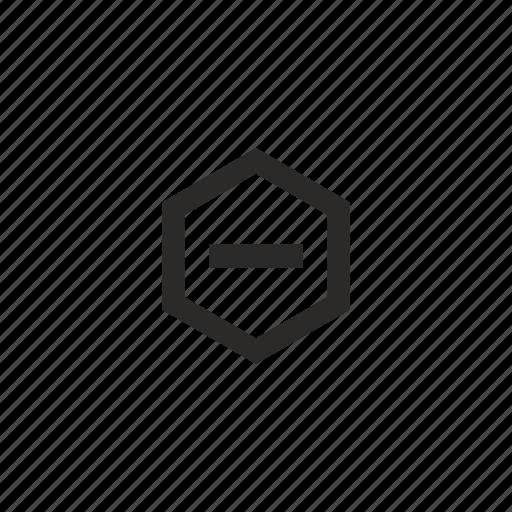 empty, paper, printer, stop icon
