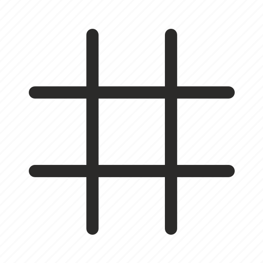 geometry, grid, intersection, lines icon