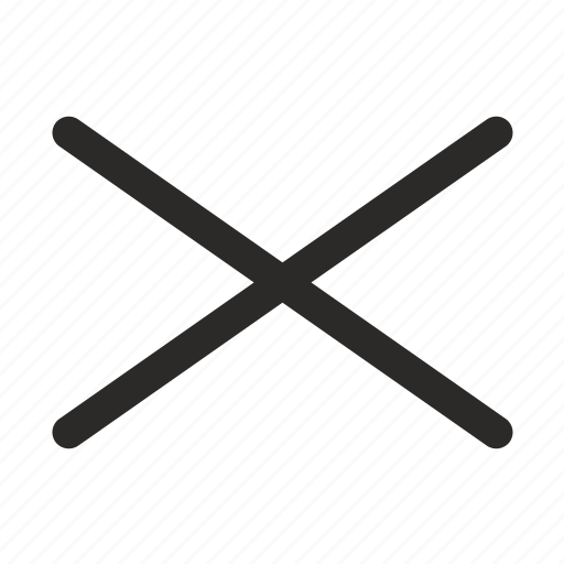 cross, intersection, lines icon