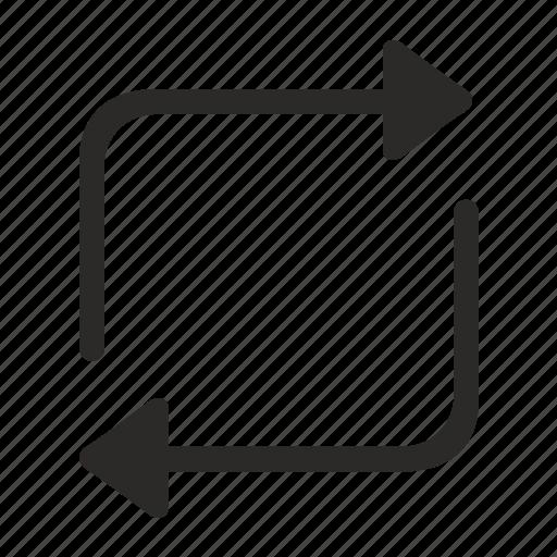arrows, geometry, lines, upload icon