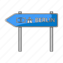arrow, nameplate, signboard, signpost icon