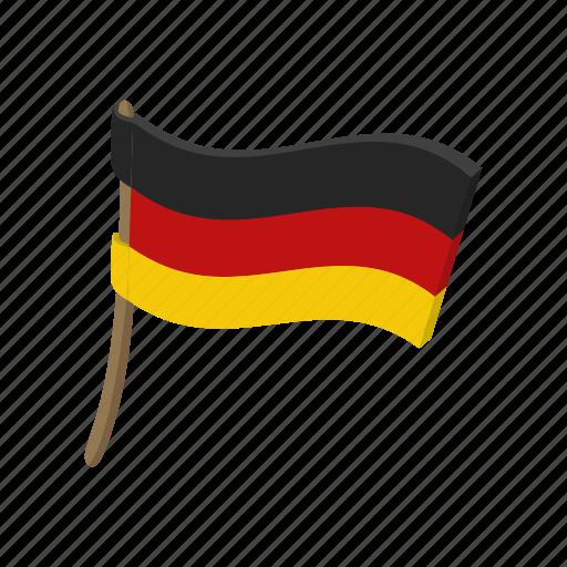 cartoon, country, flag, german, germany, national, patriotism icon