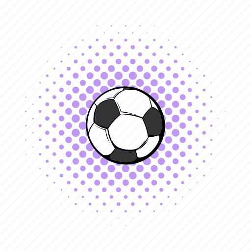 ball, comics, football, game, germany, soccer, sport icon