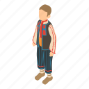 belgium, country, culture, flag, isometric, man, object