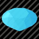 diamond, gem, isometric, jewelry, luxury, object, precious