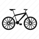 bike, cycle, sport, travel, wheel icon