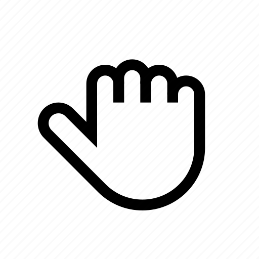 action, and, fingers, fist, five, hand, thumb icon