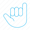finger, gestures, hand, select icon