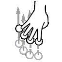 four, finger, swipe, gestureworks
