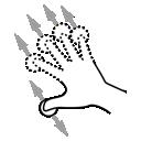 drag, finger, gestureworks, n