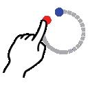 circle, gestureworks, shape, stroke